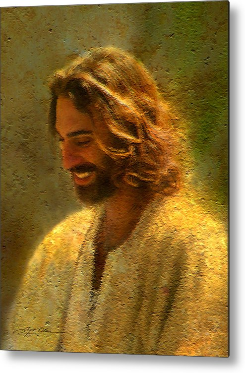 Jesus Metal Print featuring the painting Joy Of The Lord by Greg Olsen
