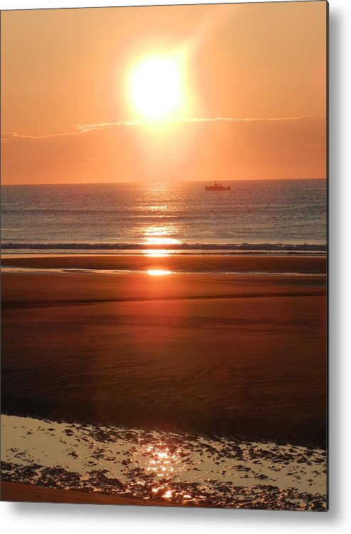 Sunrise Metal Print featuring the photograph Just Another Day by Haley Ackerman