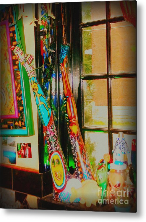 Metal Print featuring the photograph Legs In Lomoish by Kelly Awad