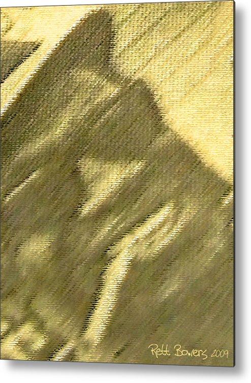 Lightning Hopkins Metal Print featuring the photograph Lightnin' by Everett Bowers