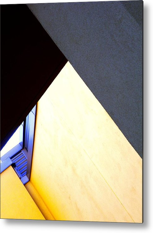 Abstract Metal Print featuring the photograph Make Your Mark. by Clayton Odom