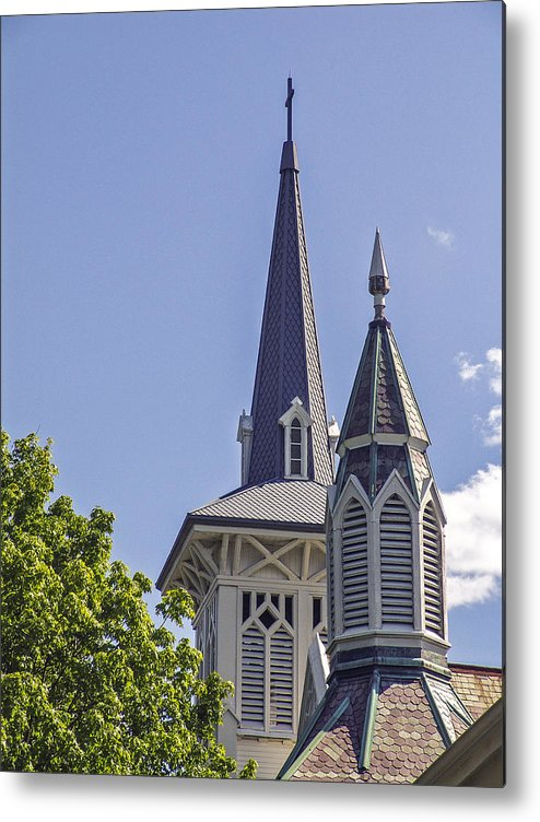 Church Metal Print featuring the photograph Mount Kisco by Eric Swan
