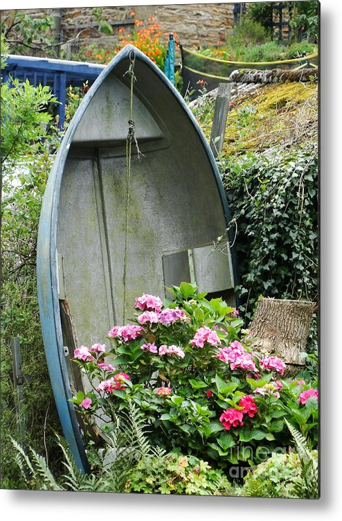 Boat Metal Print featuring the photograph My Dream Life by Paul Clavel
