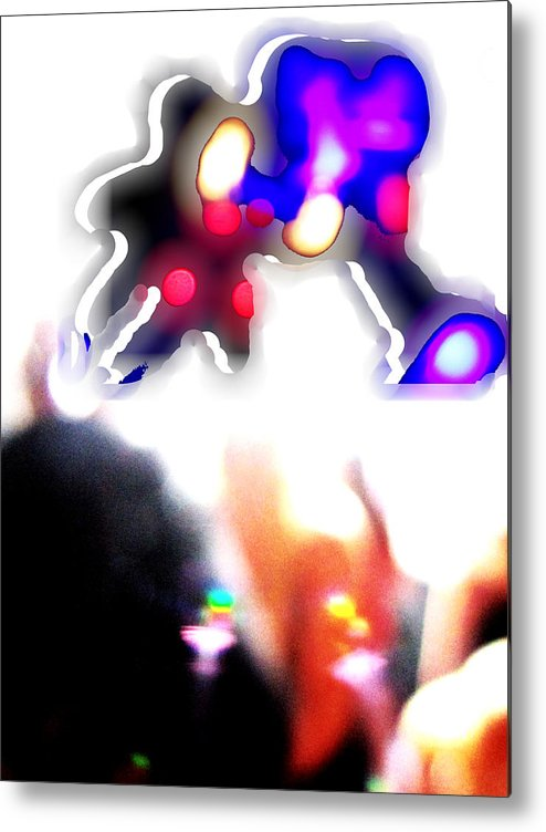 Trippy Metal Print featuring the photograph Party Monster by Sarah Butler