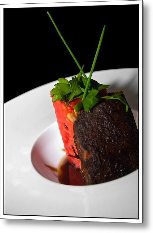Pork Metal Print featuring the photograph Pork Belly by J Williams