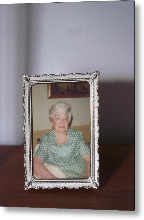 Guy Ricketts Photography Metal Print featuring the photograph Remembering Grandma by Guy Ricketts