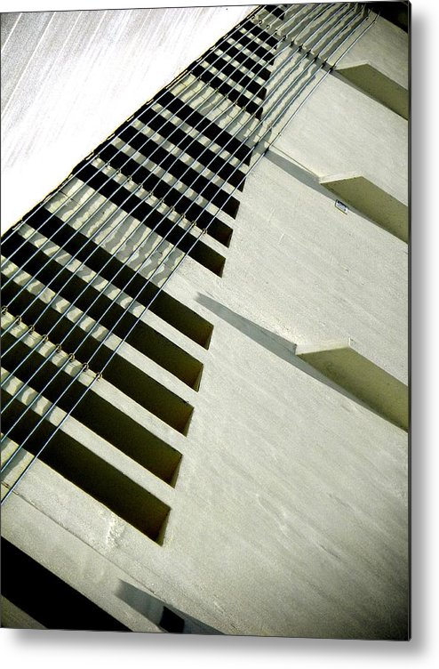 Abstract Metal Print featuring the photograph Respectful by Clayton Odom