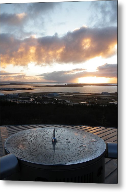 Iceland Metal Print featuring the photograph Reykjavik Harbour by Derek Sherwin