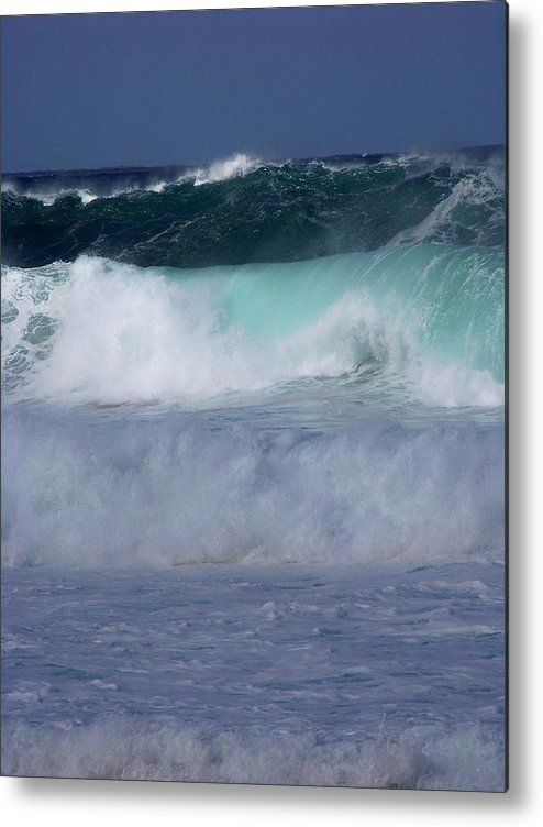 Surfing Metal Print featuring the photograph Rolling Thunder by Karen Wiles