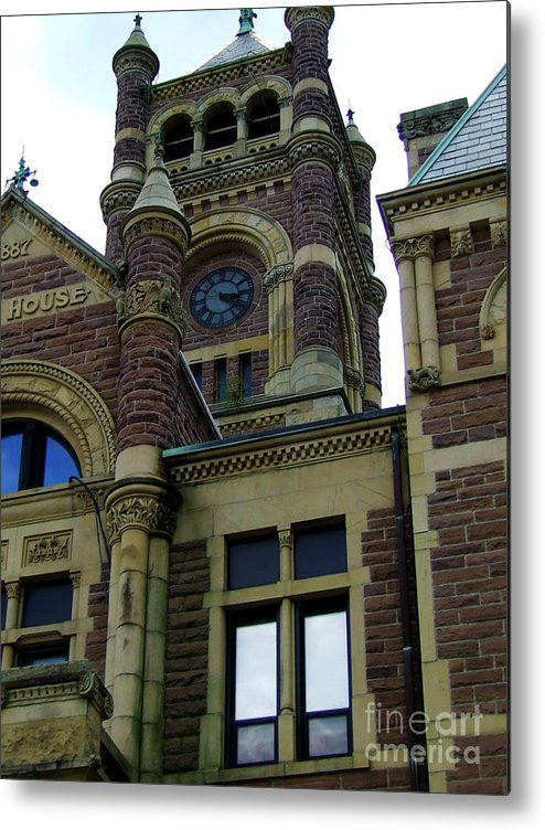 Court House Metal Print featuring the photograph Structure Of Justice by Scott B Bennett