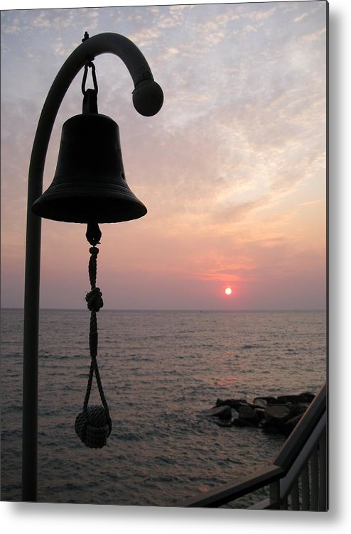 Italy Metal Print featuring the photograph Sunrise Diano Marina Italy by Terence Nunn