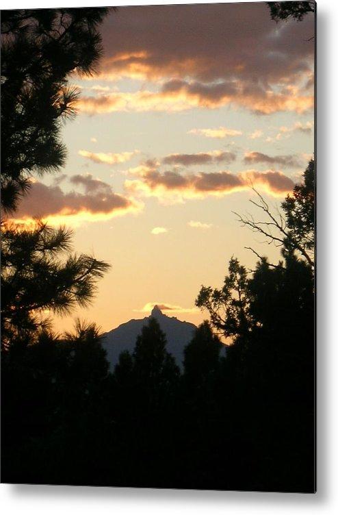 Sunset Metal Print featuring the painting Sunset On Washington by Jennifer Lake