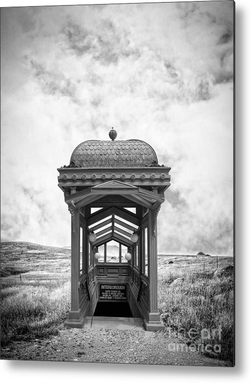 Ranch Metal Print featuring the photograph Subway Surreal by Edward Fielding