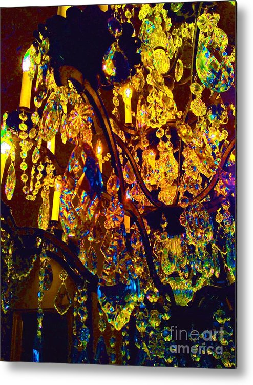 Crystal Metal Print featuring the digital art Suzanne 1 by Leanne Stock