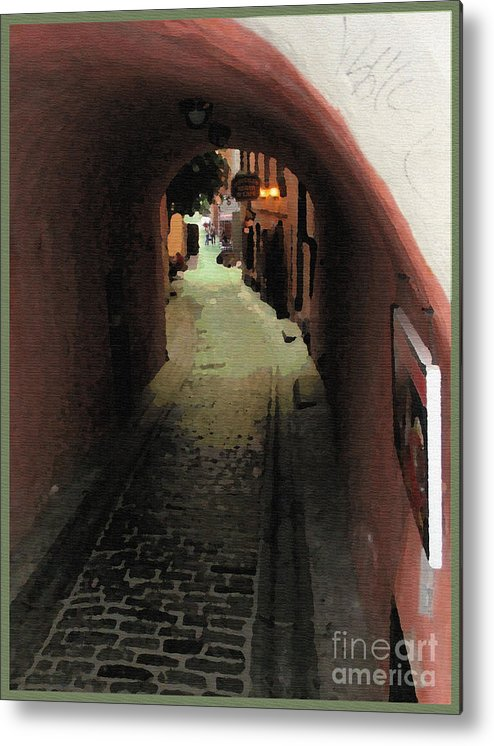 Tunnel Metal Print featuring the photograph Tunnel Of Love by Jack Gannon