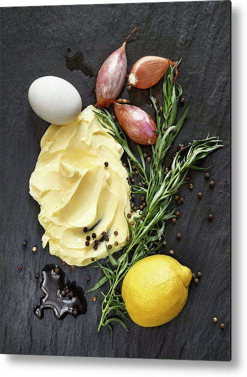 Lemon Metal Print featuring the photograph Vegetables II by #name?