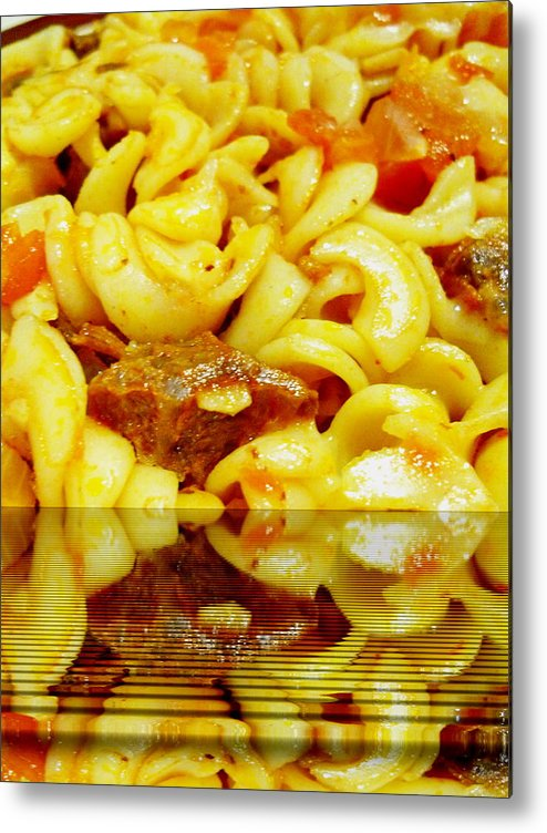 Food Metal Print featuring the photograph Food by Beto Machado