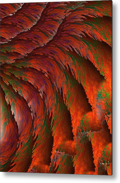 Imagination Metal Print featuring the painting Imagination by Christopher Gaston