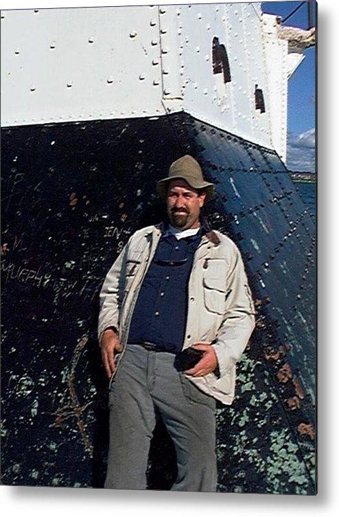 Fishing Metal Print featuring the photograph John by Joseph Yarbrough