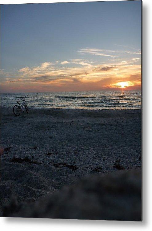 Beach Metal Print featuring the photograph 100677 by Moriah Maddux
