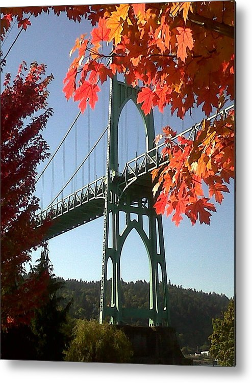 Oregon Metal Print featuring the photograph Autumn by Quin Sweetman