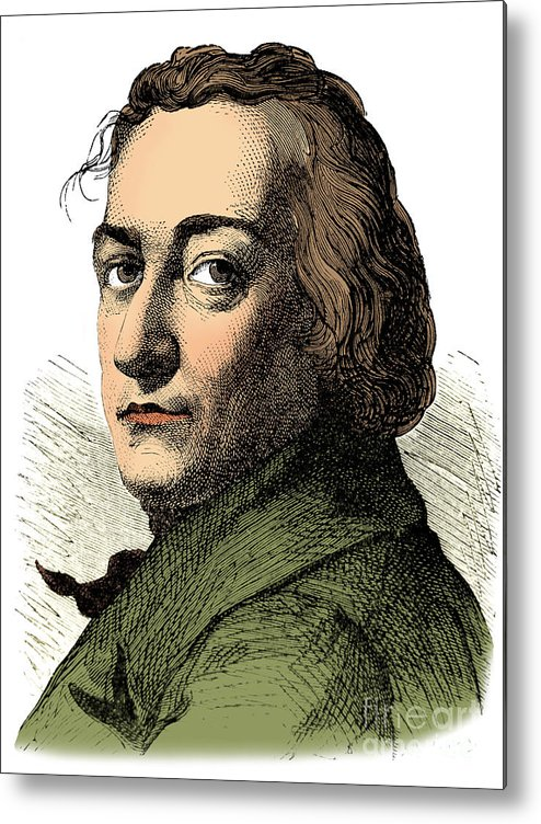 Science Metal Print featuring the photograph Claude-louis Berthollet, French Chemist by Science Source
