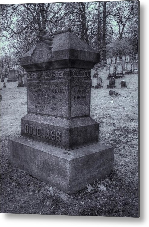 Frederick Douglass Metal Print featuring the photograph Frederick Douglass Grave One by Joshua House