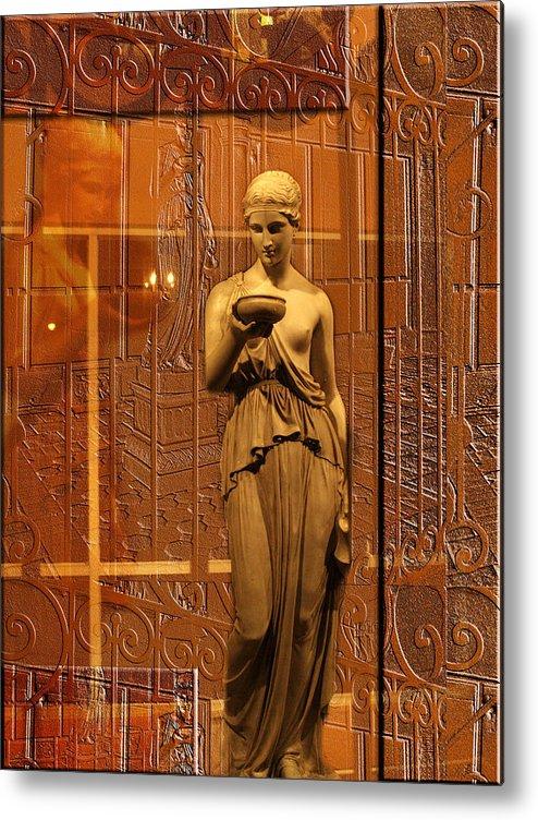 Goddess Metal Print featuring the photograph Goddess by Edie Kynard