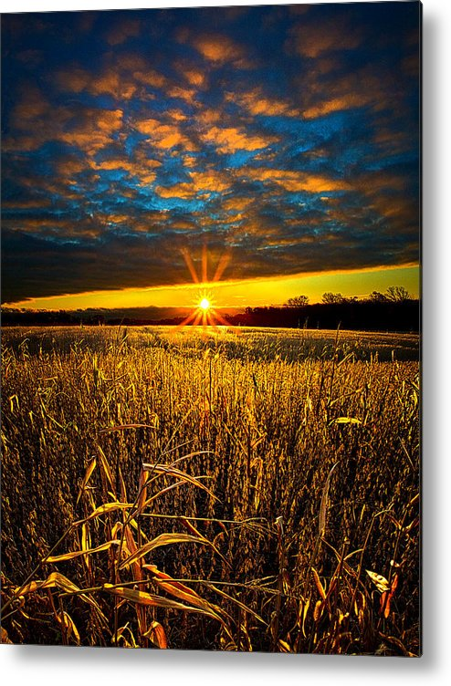 Horizons Metal Print featuring the photograph Hope by Phil Koch