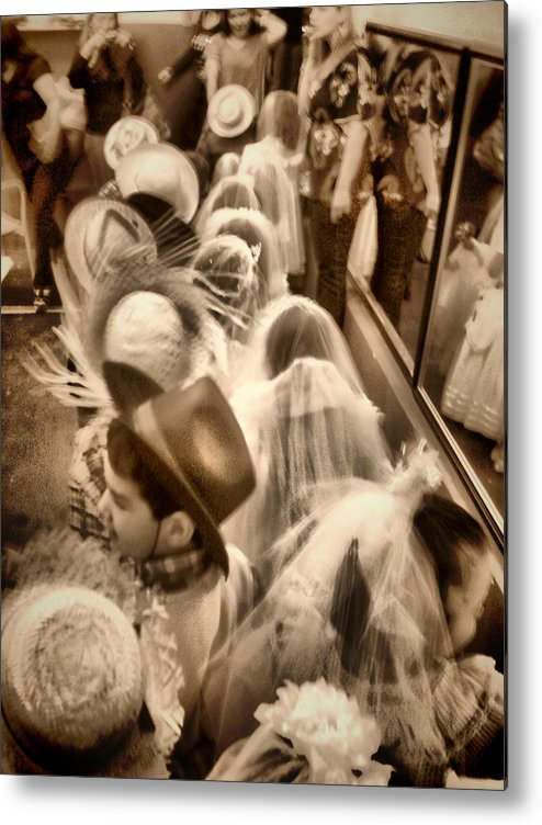 People Metal Print featuring the photograph Interior by Beto Machado