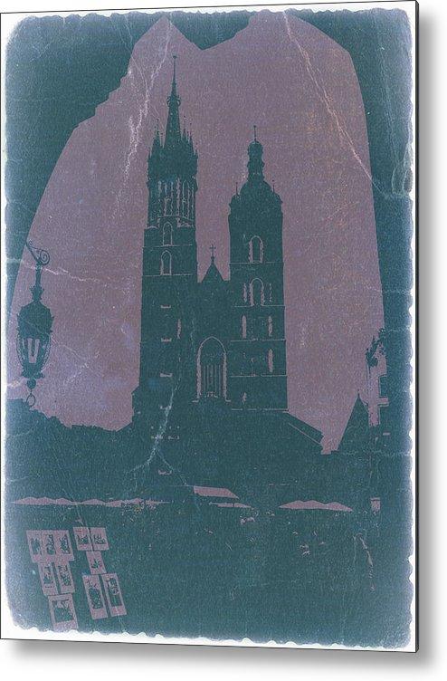 Krakow Metal Print featuring the photograph Krakow by Naxart Studio