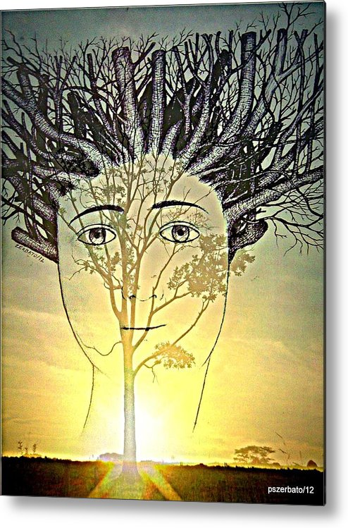 Pruning Metal Print featuring the digital art Prune Early All The Questions by Paulo Zerbato