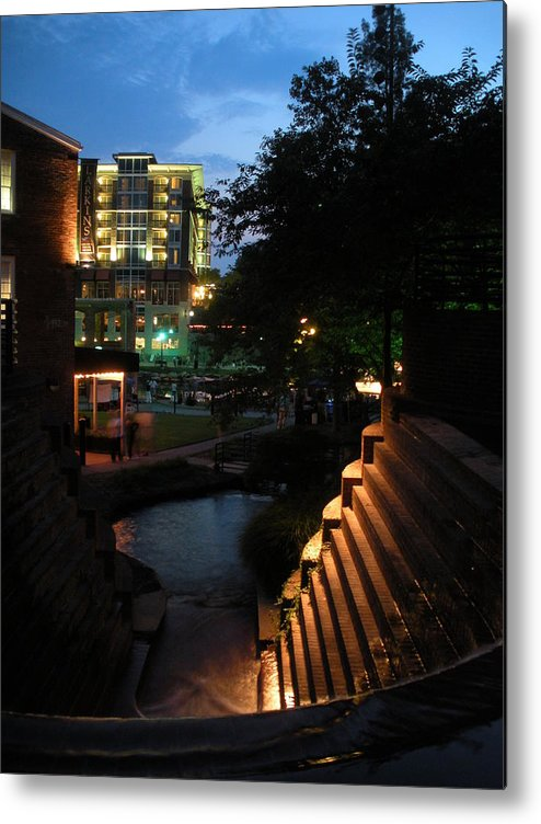Greenville Metal Print featuring the photograph Reedy River View 6 by Craig Johnson