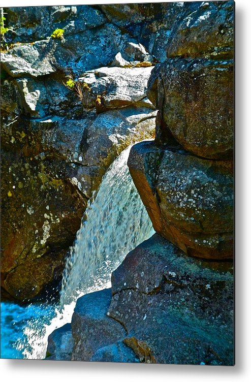 Landscape Metal Print featuring the photograph Screw Auger F by George Ramos
