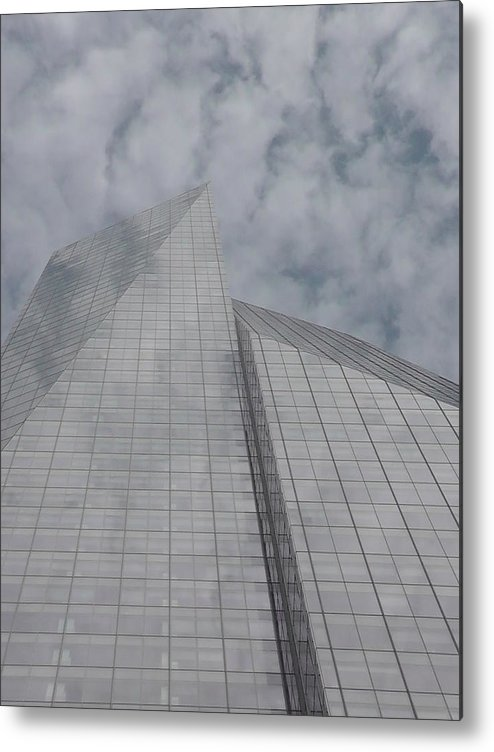 Clouds Metal Print featuring the photograph Touching The Sky by Cathy Brown