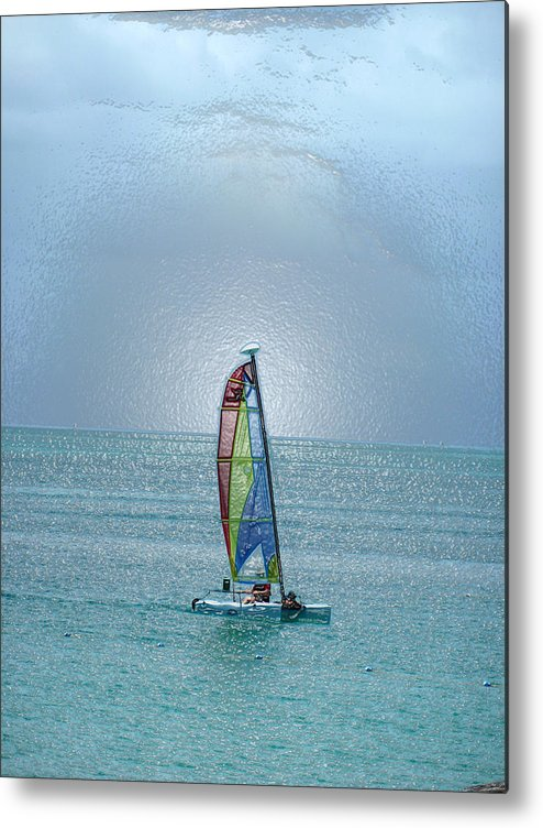 Sail Boat Metal Print featuring the photograph Turks 28 by Allan Rothman