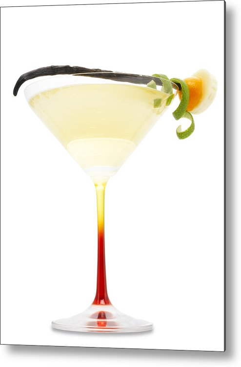 Rum Metal Print featuring the photograph Vanilla Rum Drink by Federico Arce