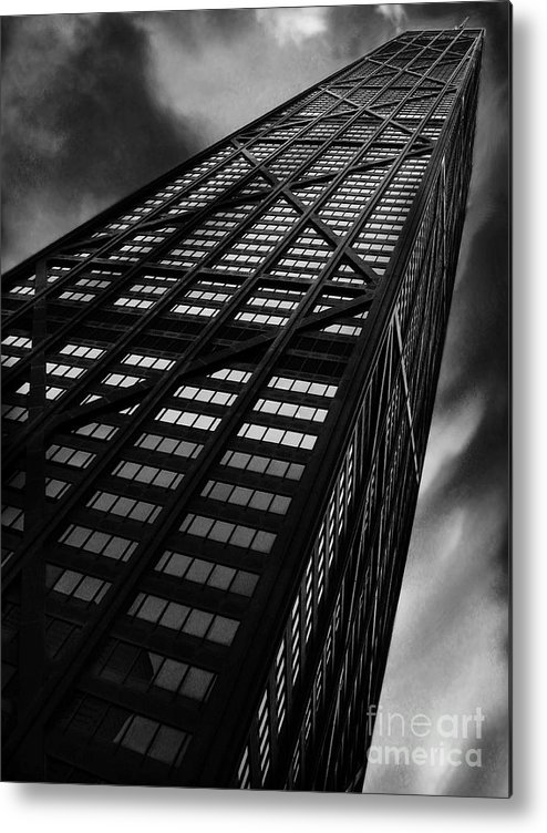 City Metal Print featuring the photograph Limitless by Dana DiPasquale
