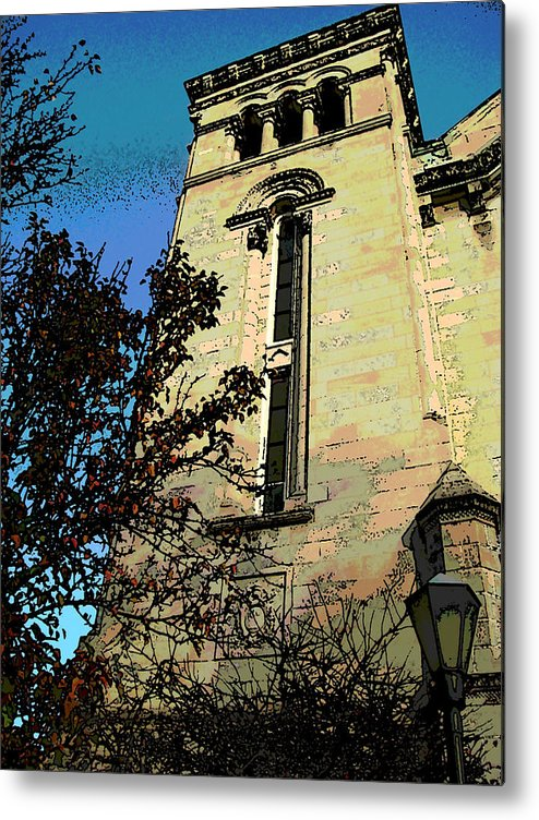 Architecture Metal Print featuring the photograph Architecture Series by Ginger Geftakys