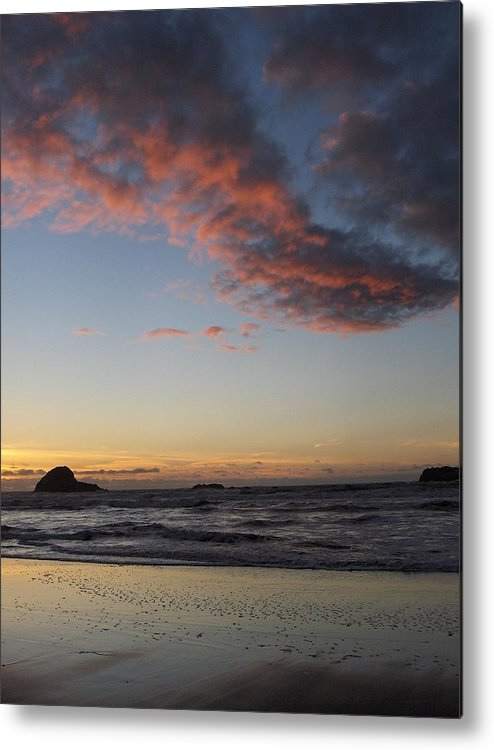 Clouds Metal Print featuring the photograph Big Sky by Denise Lowery