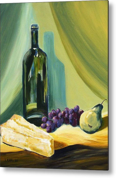 Still Life Metal Print featuring the painting A Few Of My Favorite Things by Joe Lanni