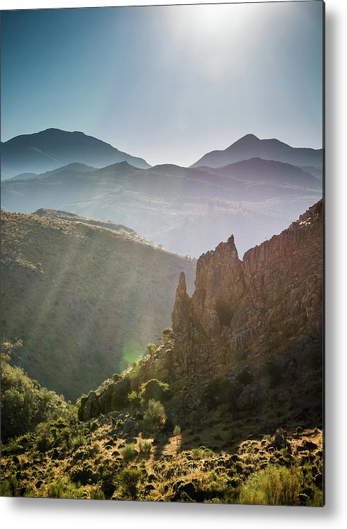 Andalucia Metal Print featuring the photograph Andalucia Morning by Michael Thomas