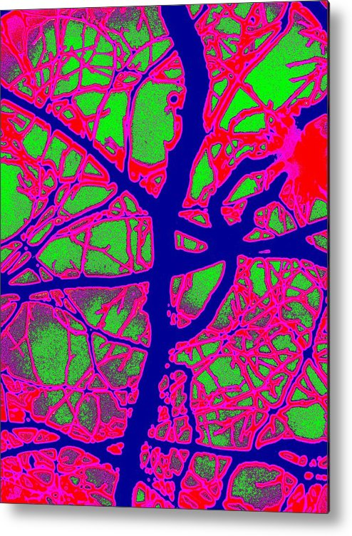 Abstract Metal Print featuring the digital art Arbor Mist 2 by Tim Allen