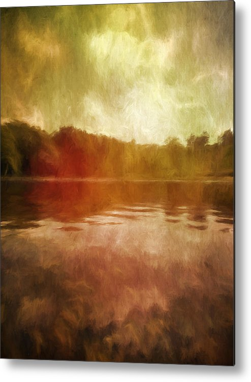 Museum Metal Print featuring the photograph At The Clark I by Tina Baxter