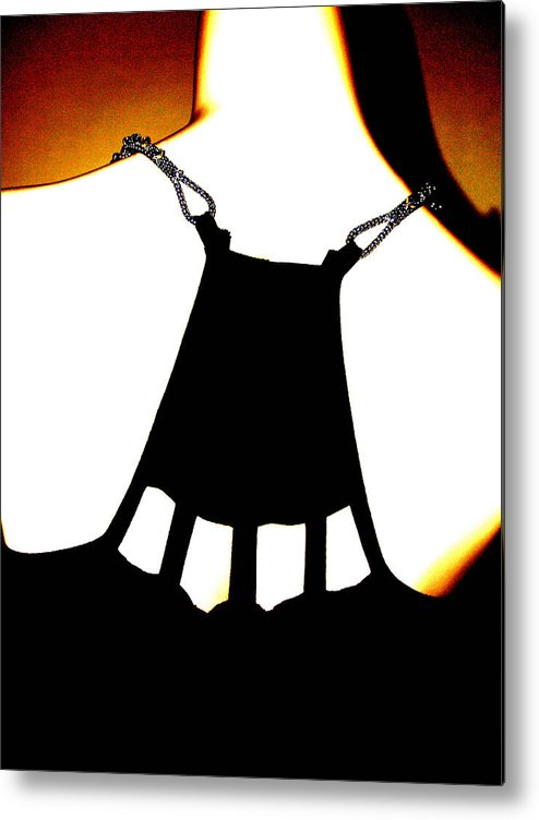 Digital Art Metal Print featuring the digital art Back Of Fashion by James Granberry