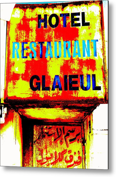 Lebanon Metal Print featuring the photograph Beirut Funky Hotel by Funkpix Photo Hunter