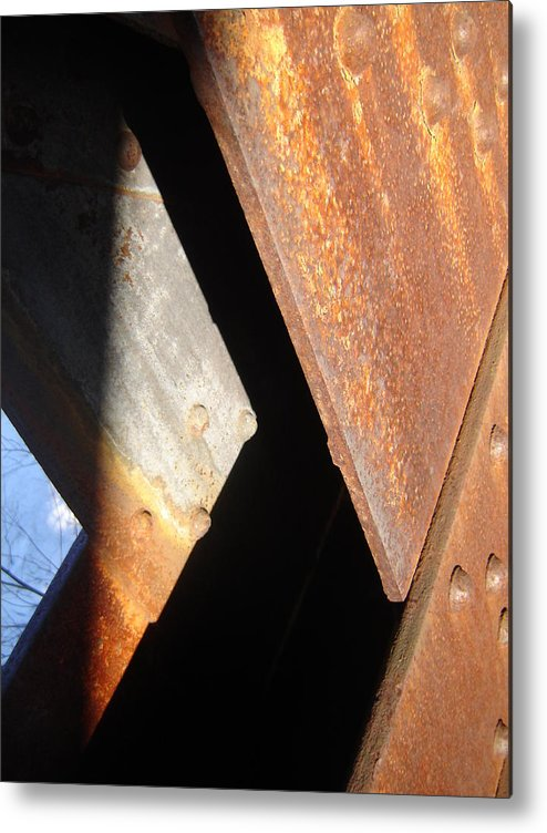 Architectural Metal Print featuring the photograph Blue Angle by Dean Corbin