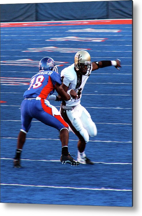 Boise State Metal Print featuring the photograph Boise State Great Gerald Alexander by Lost River Photography