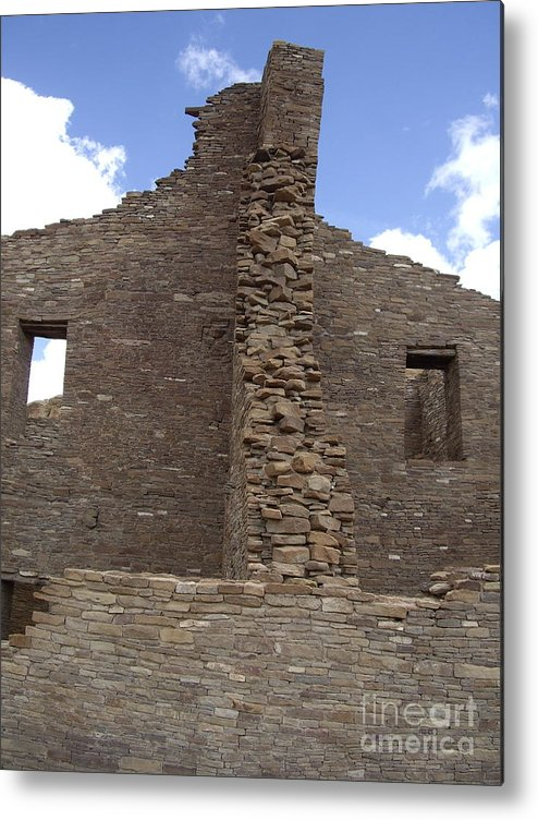 Chaco Canyon Metal Print featuring the photograph Bonito 4 Stories by Carol Komassa