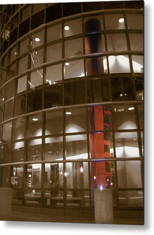 Boston Medical Center Metal Print featuring the photograph Boston Medical Exterior by Heather Weikel